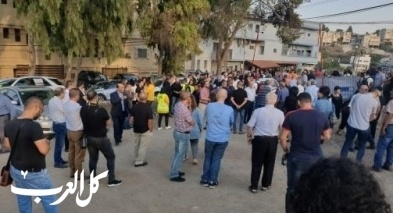 انطلاق مسيرة التوابيت السوداء في الناصرة