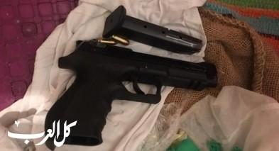 اعتقال ثلاثة اشخاص من كفرياسيف بشبهة حيازة اسلحة