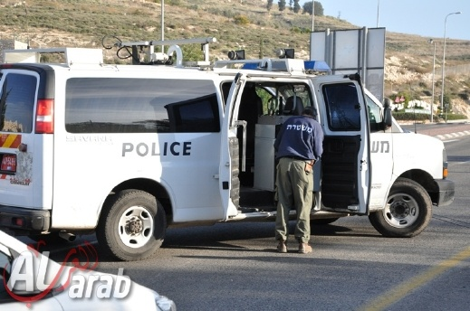 سكان من الرملة: شرطي تجاوز إشارة ضوئية حمراء