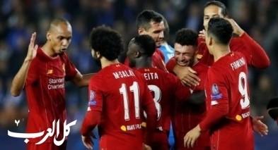 ليفربول يحقق فوزاً ساحقاً على مضيفه جينك البلجيكي