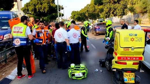اصابة فتى (15 عامًا) جراء تعرضه للدهس في اشدود