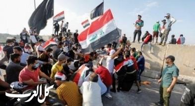 قتيل وعشرات المختنقين في احتجاجات بغداد