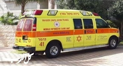 ريشون لتسيون: إصابة عامل إثر سقوط جسم ثقيل عليه