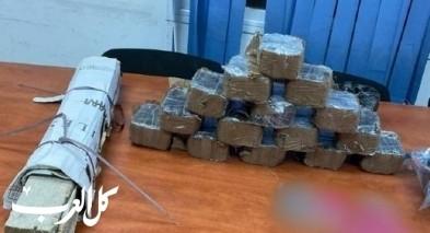 الغجر: ضبط 19 كيلوغرام من المخدرات