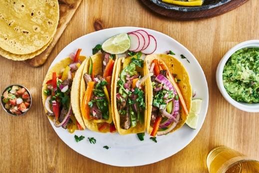 ساندويتشات الفاهيتا على الطريقة المكسيكية