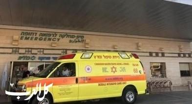 كفار يونا: إصابة متوسطة لعامل سقط عن ارتفاع