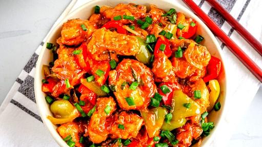 من المطبخ الصيني: دجاج حامض حلو