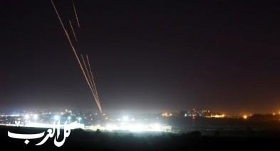 صافرات انذار وإطلاق قذيفة من غزة