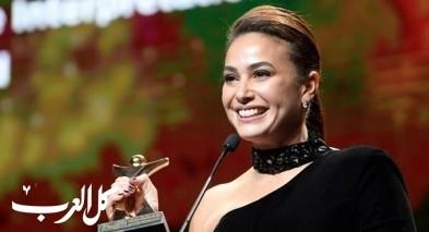 هند صبري أفضل ممثلة في أيام قرطاج