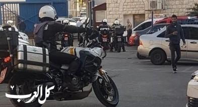 اليوم.. حملة للشرطة بالناصرة والقرى المجاورة