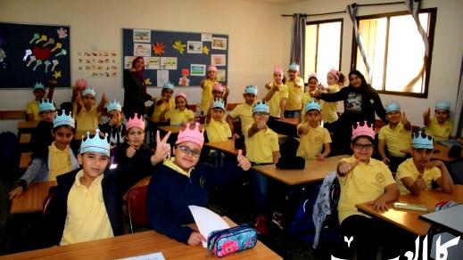 مدرسة المجد النصراوية تحتفل بذكرى المولد النبوي