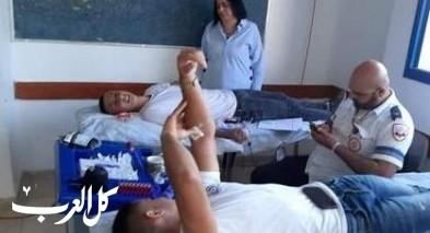 جديدة المكر: حملة تبرع بالدم في البيروني