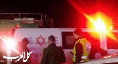 إصابة خطيرة إثر حادث طرق قرب أريحا