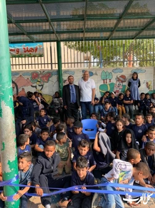 د. شريف أبو هاني يلقي محاضرات برهط