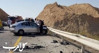 مصرع شاب وإصابة آخر بجروح خطيرة في حادث سير بأريحا