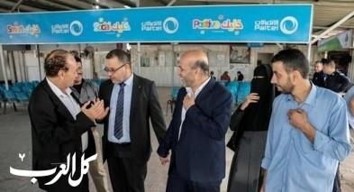 رئيس جمعية الاغاثة 48 بزيارة لغزة