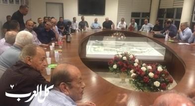 سخنين: اجتماع حول مخطط نقل خط الكهرباء