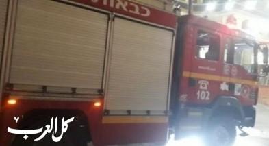 الناصرة: إندلاع النيران بسيارة والشرطة تحقق