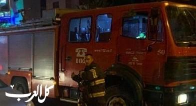 طمرة: اندلاع حريق داخل حافلة