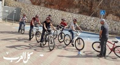 أم الفحم: طلاب مدرسة المفتان المهنية يشاركون بدورة