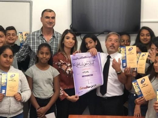عكا: حملة تبرعات لمرضى السرطان من طلاب أورط