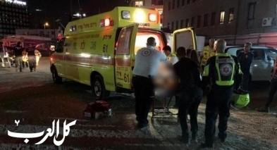 تل أبيب: إصابة عامل إثر سقوطه عن ارتفاع