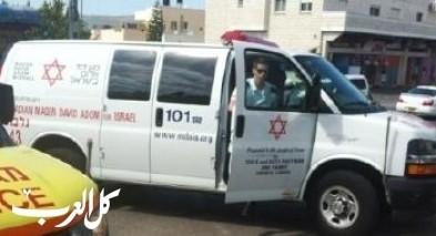 إصابة فلسطيني (12 عامًا)إثر تعرضه للدهس قرب يكير