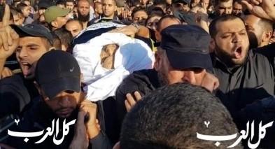 غزة: انطلاق موكب تشييع جثمان الشهيد بهاء أبو العطا