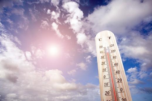 الطقس: جو غائم جزئي الى صاف وارتفاع على الحرارة