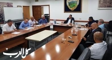 جلسة خاصة للرؤساء لبحث عمل اتحاد المياه شفاعمرو