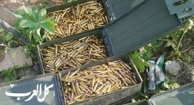 ضبط 4000 رصاصة داخل صناديق في جديدة المكر