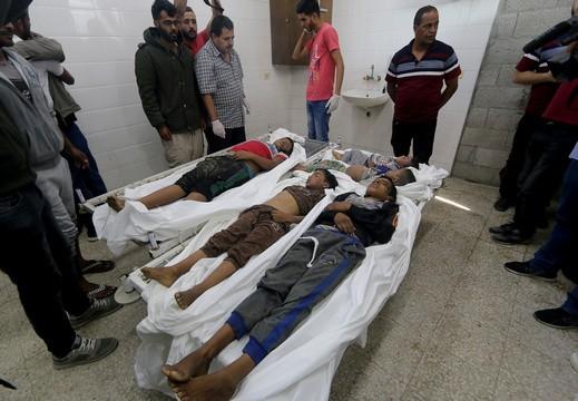 ملادينوف: لا مبرر لاستهداف مدنيي غزة