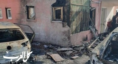 الجش: إندلاع حريق بمنزل وسيارتين وإلحاق أضرار
