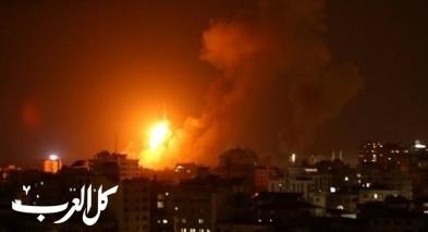 الجيش الاسرائيلي يشن سلسلة غارات في غزة