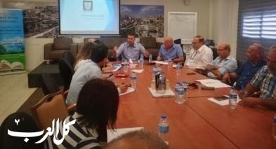 مجلس يافة الناصرة يستضيف حاييم بيباس
