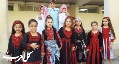 مجد الكروم: مدرسة عمر بن الخطاب تحتفل بفعاليات الزيت