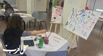معرض فني لإبداعات طلابية في المدرسة الإعدادية الحديقة