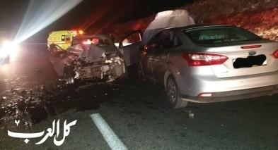 اصابة 4 اشخاص بحادث طرق قرب عكبرة بالشمال