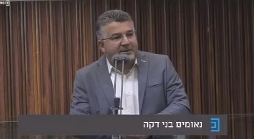النائب جبارين: نتنياهو يتبنى خطاب كهانا