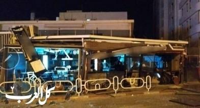 نهاريا: إنفجار قرب محل تجاري والحاق أضرار