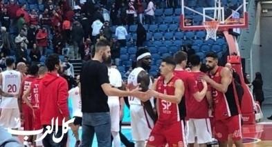 تأهل هبوعيل القدس إلى ربع نهائي كأس الدولة بكرة السلة