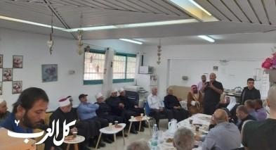 رهط: مدرسة الرازي تستقبل رجال دين في يوم التسامح