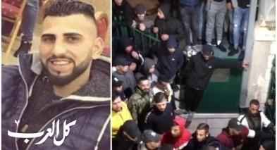 القدس: جماهير غفيرة تشيع جثمان الشاب فارس ابو ناب بعد مقتله برصاص الشرطة