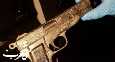 اعتقال 4 مشتبهين من كفرمصر بعد العثور على مسدس