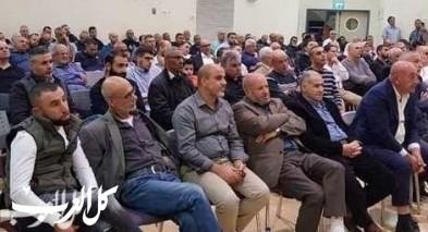 اجتماع لاهالي الجديدة المكر حول قضية الطنطورة