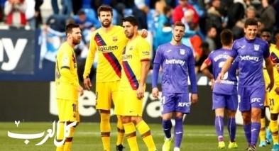 برشلونة ينجو من سقوط جديد بالدوري الإسباني بفوز مثير