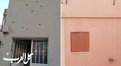 اكسال: اطلاق وابل من الرصاص على منزل