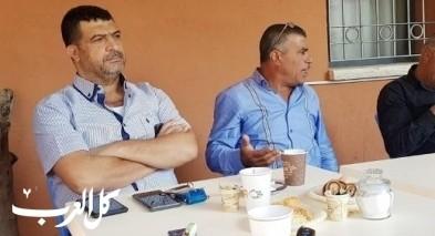 البعنة: ملتقى رواء يستضيف رئيس مجلس مجد الكروم