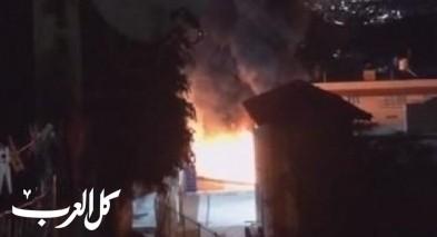 دير الاسد: احراق سيارات وغضب من المواطنين