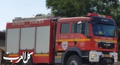 يانوح جت: إندلاع حريق في كرم للزيتون دون اصابات